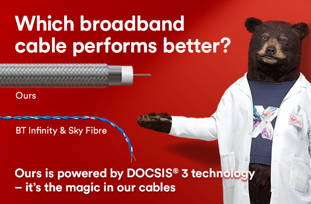 Ultrafast broadband from Virgin Media