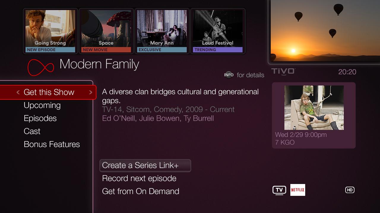 Virgin Media TV auf Anfrage