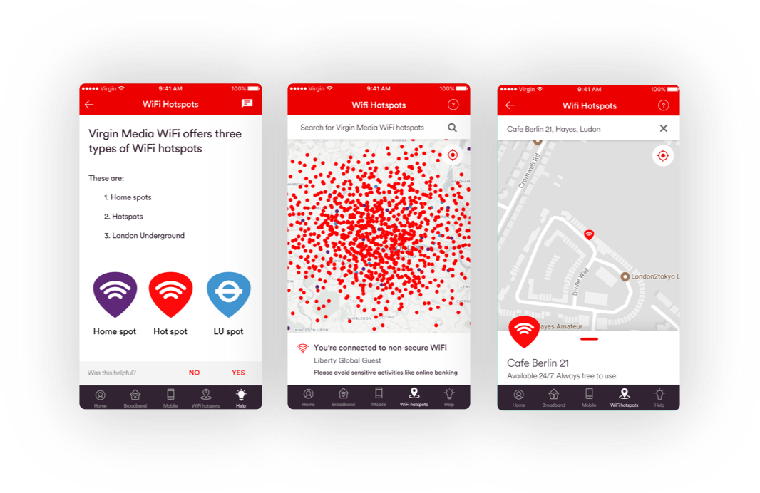Fast and free WiFi hotspots | Save data on the go | Virgin Media