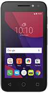Alcatel Onetouch Pixi 4 (4) Black phone