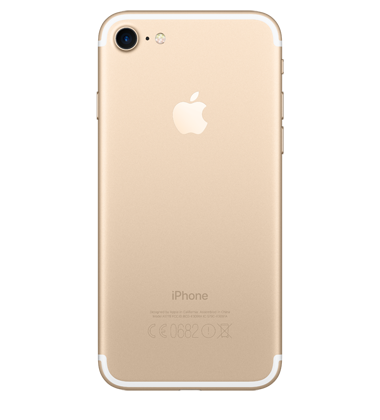 Back view of Apple iPhone 7 32GB Gold