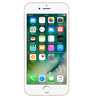 Front view of Apple iPhone 7 32GB Gold