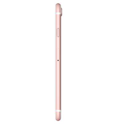 Right side view of Apple iPhone 7 128GB Rose Gold
