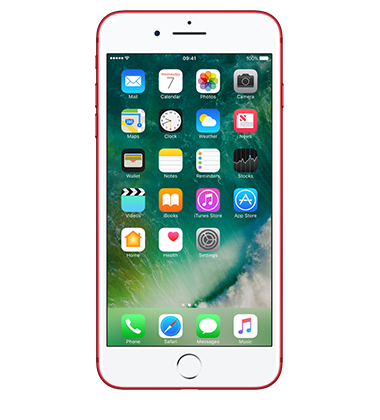 Front view of Apple iPhone 7 Plus 128GB Red