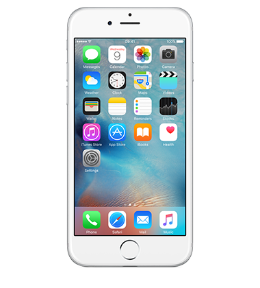 Front view of Apple iPhone 6 16GB Silver