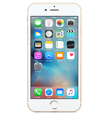Front view of Apple iPhone 6s 16GB Gold