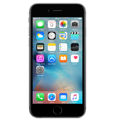 Front view of Apple iPhone 6s 32GB Space Grey