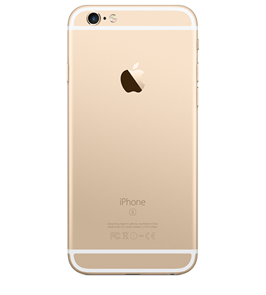 Back view of Apple iPhone 6s 16GB Gold
