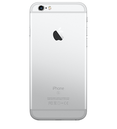 Back view of Apple iPhone 6s 16GB Silver
