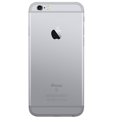 Back view of Apple iPhone 6s 32GB Space Grey
