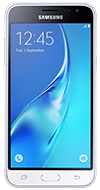 Product view of Samsung Galaxy J3 White phone