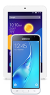 Samsung Galaxy J3 + Android tablet