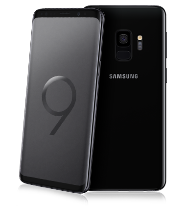 Samsung galaxy s9 black mediaworld