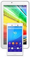 Sony Xperia M4 Aqua + Android tablet