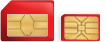 Micro and Nano SIM card