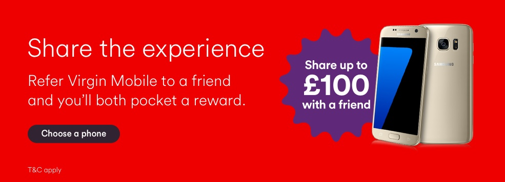 Refer a Friend to Virgin Mobile