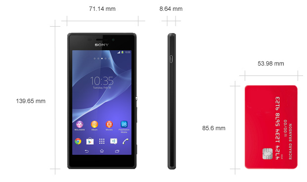 Xperia M Specification Sony Xperia M2 White -...