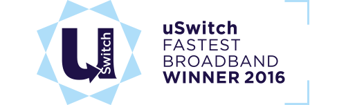 uSwitch - Fastest Broadband - Winner