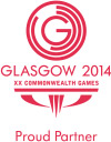 Proud partner of the Glasgow 2014 Commonwealth Games